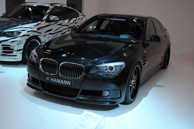 BMW serie 7 y BMW serie 6 Cebra